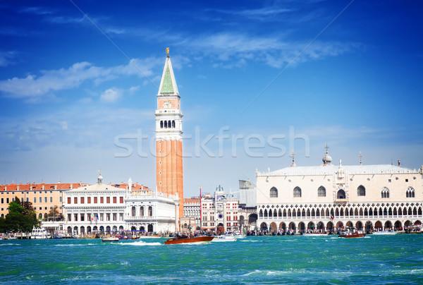 Carré bord de l'eau Venise célèbre Italie Photo stock © neirfy