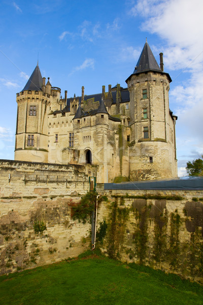 Saumur castle at Loire valley Stock photo © neirfy