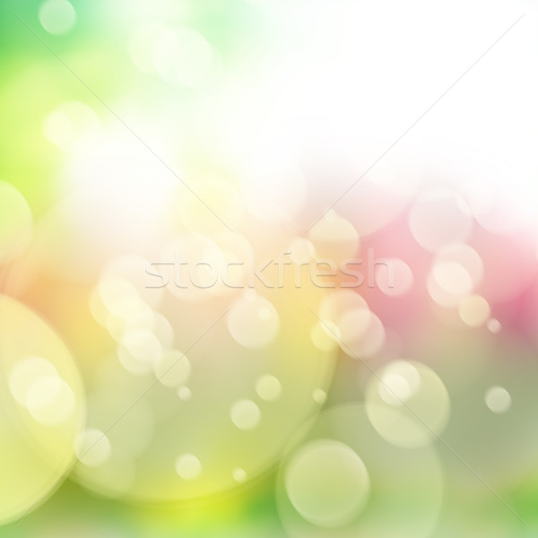 defocused bokeh background Stock photo © neirfy