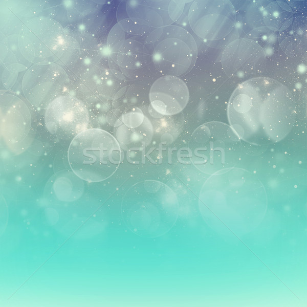 chrismas  background with sparkles Stock photo © neirfy