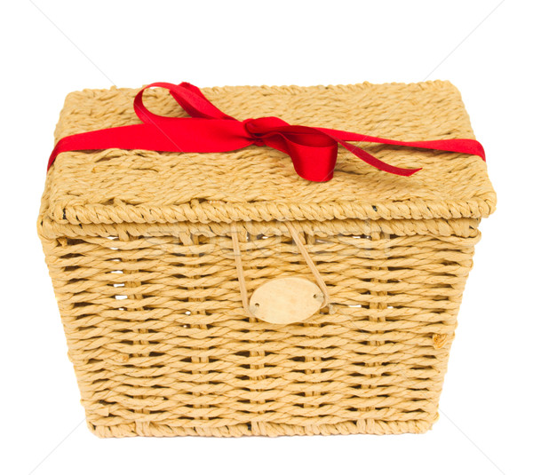 gift basket Stock photo © neirfy