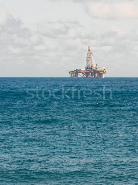 oil platform in sea Stock photo © neirfy
