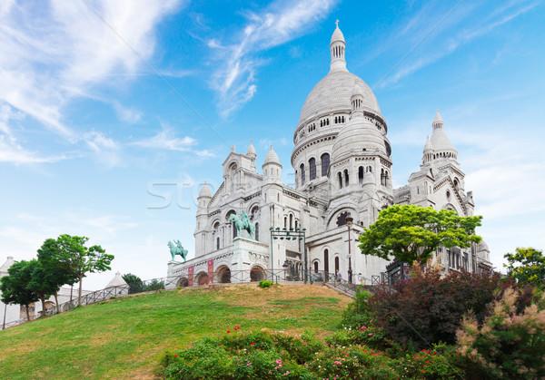 Sacre Coeur church, Paris Stock photo © neirfy
