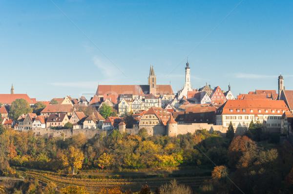 ドイツ パノラマ 表示 世界 旅行 アーキテクチャ ストックフォト © neirfy