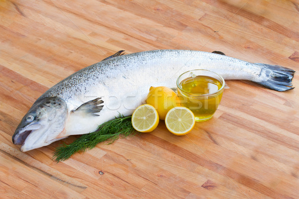Atlantic Salmon fish Stock photo © neirfy