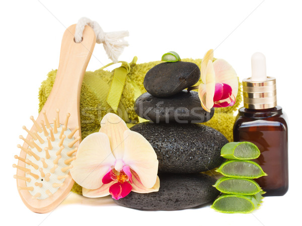 orchid spa treatment Stock photo © neirfy