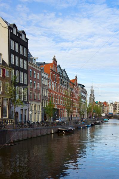 Amsterdam inner city, Netherlands Stock photo © neirfy