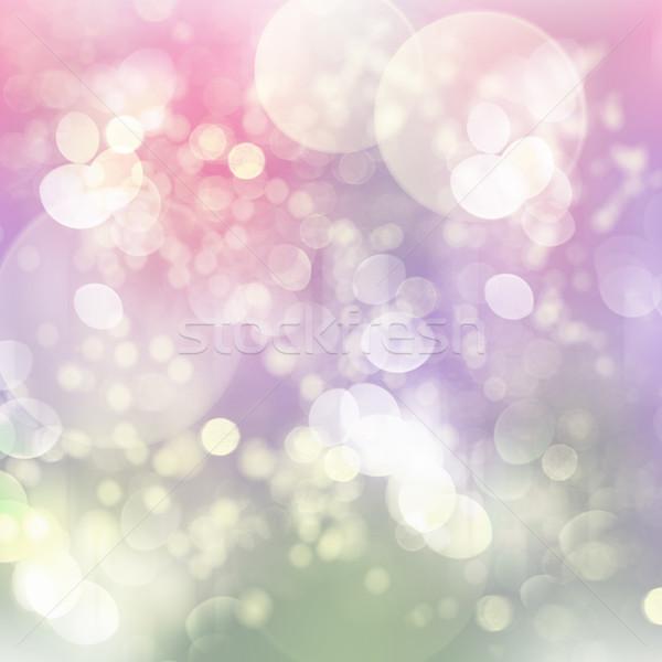 Festive lights background Stock photo © neirfy