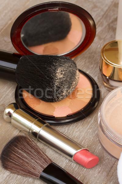 фундаментальный макияж продукции Сток-фото © neirfy