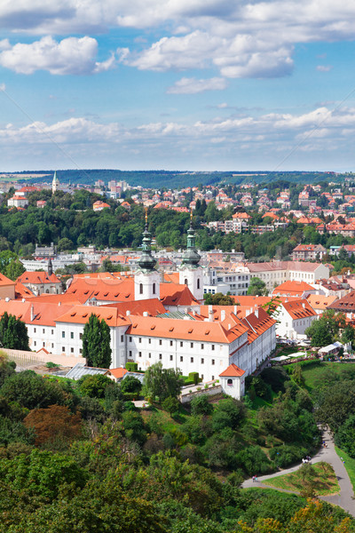 Strahov monastery, Prague Stock photo © neirfy