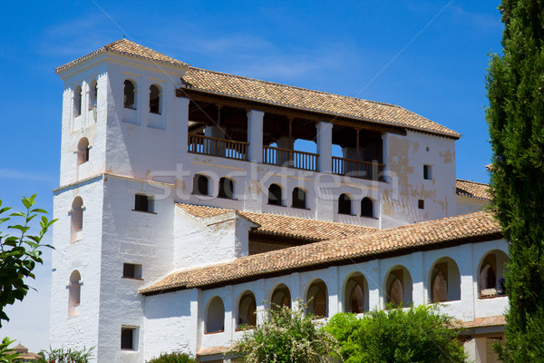Generalife  palace, Spain Stock photo © neirfy