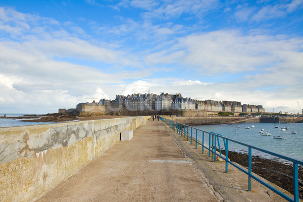 old town of  Saint Malo, France Stock photo © neirfy