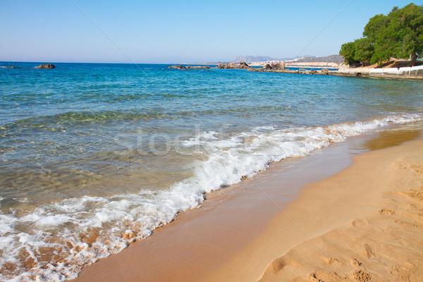 beach of Crete, Greece Stock photo © neirfy