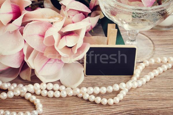 wedding greetings Stock photo © neirfy