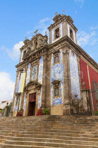 st Ildefonso Church, Porto, Portugal Stock photo © neirfy
