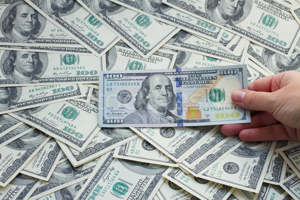 dollar money Stock photo © neirfy