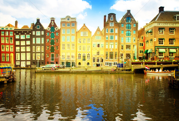 old canal of Amsterdam Stock photo © neirfy