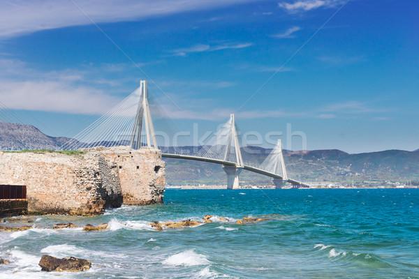 Сток-фото: мнение · Рио · моста · Греция · воды · дороги