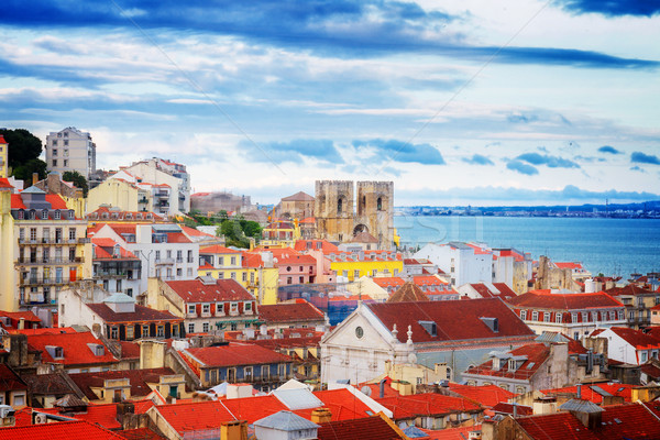 skyline of  Lisbon, Portugal Stock photo © neirfy