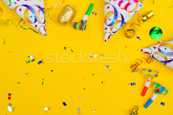 Bright colorful carnival or party scene Stock photo © neirfy