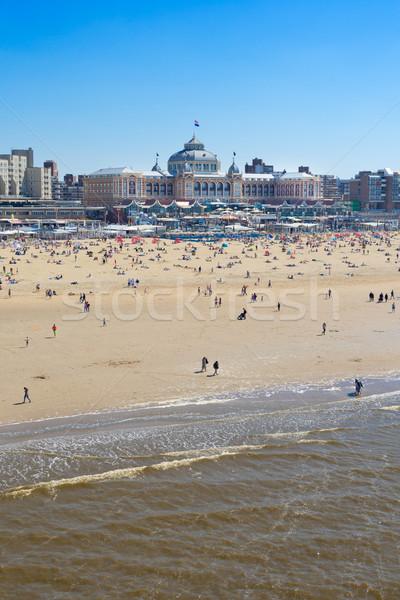 Scheveningen beach, The Hague Stock photo © neirfy