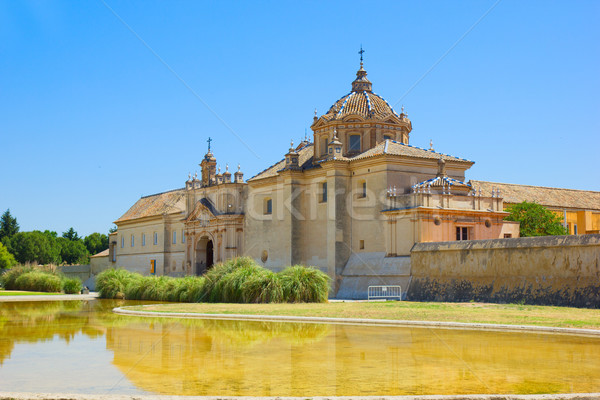 Monastery of the Cartuja,  Sevilla,  Spain Stock photo © neirfy