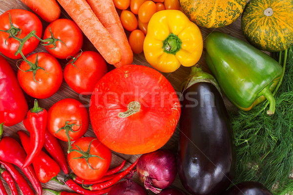 ripe of fresh vegetables Stock photo © neirfy