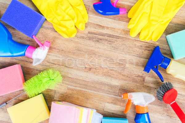 Spring cleaning concept Stock photo © neirfy