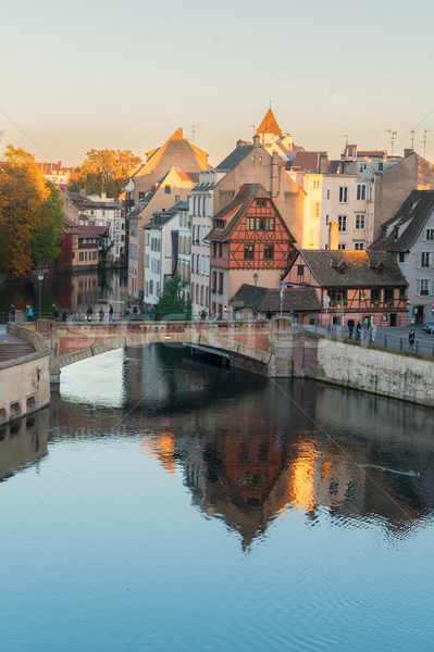 old town of Strasbourg, France Stock photo © neirfy