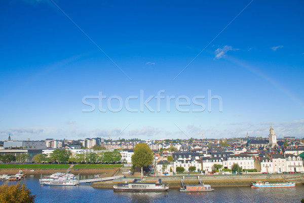 view of Angers, France Stock photo © neirfy