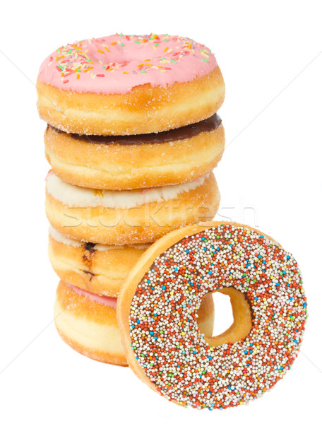 donuts tower Stock photo © neirfy