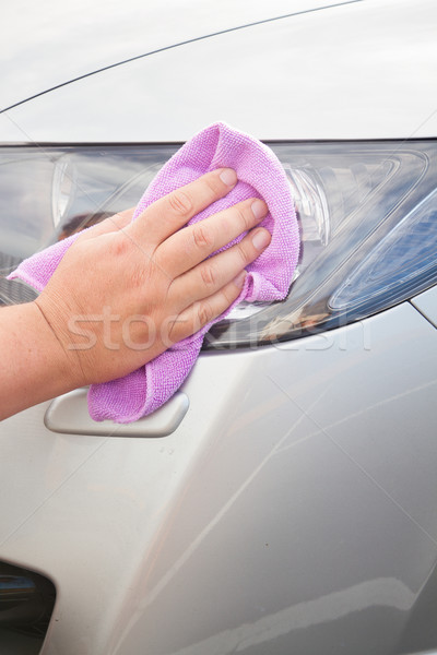 washing car Stock photo © neirfy