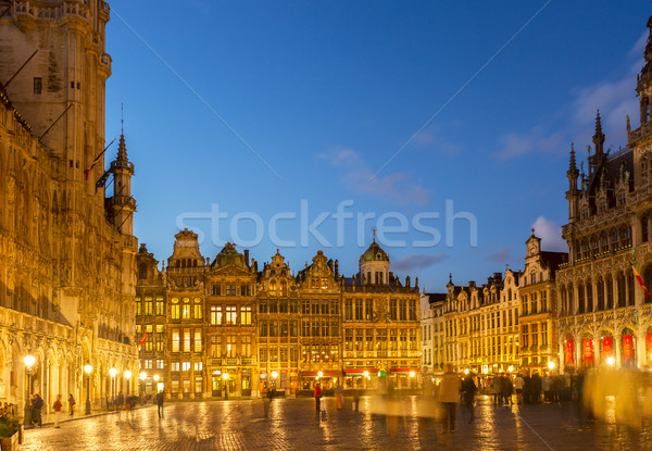 Grand Place  Town Square, Brusseles Stock photo © neirfy