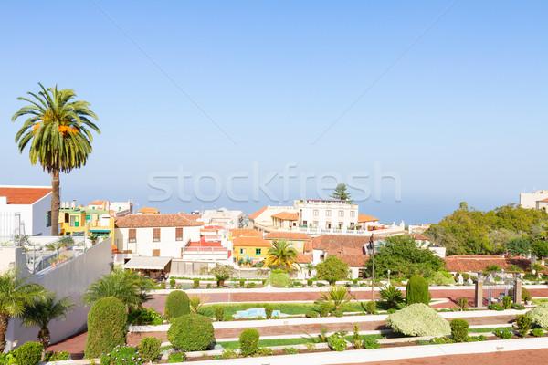 Cityscape tenerife Espanha ilha casa edifício Foto stock © neirfy