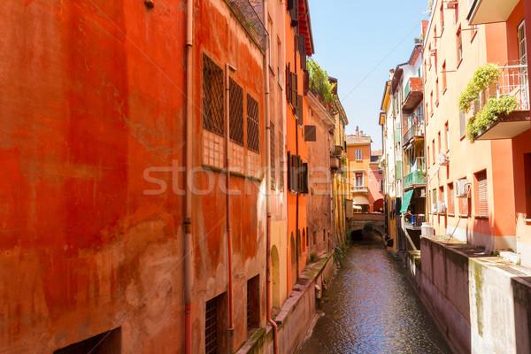 Street of Bologna Stock photo © neirfy