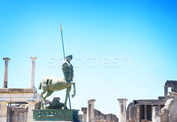 ruins of Pompeii, Italy Stock photo © neirfy