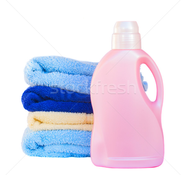 Towels with detergent Stock photo © neirfy