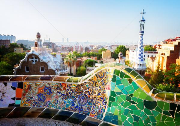 park Guell, Barcelona Stock photo © neirfy