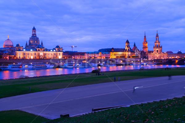 ドレスデン ドイツ 川 1泊 水 ストックフォト © neirfy