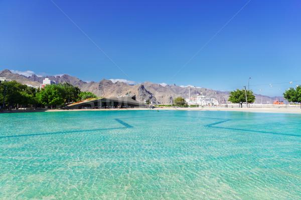 Stockfoto: Tenerife · stadsgezicht · hemel · gebouw · stad