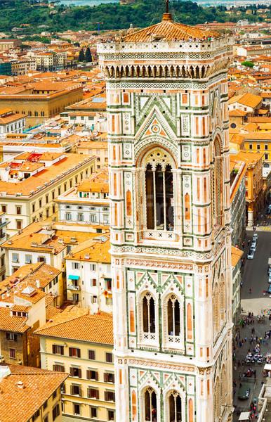 鐘 塔 大聖堂 教会 フィレンツェ イタリア ストックフォト © neirfy