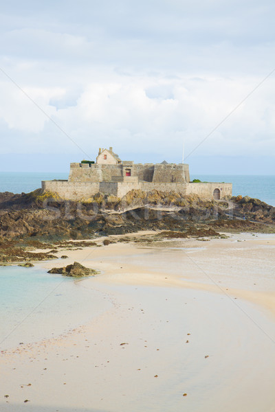 Fort National, St Malo, Brittany, France Stock photo © neirfy