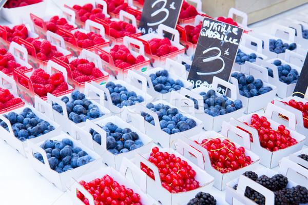 Provence market Stock photo © neirfy