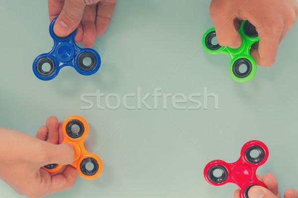Népszerű megnyugtató játék általános terv trendi Stock fotó © neirfy