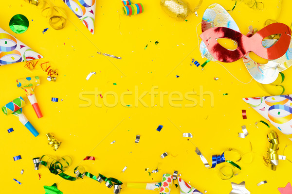Stock photo: Bright colorful carnival or party scene