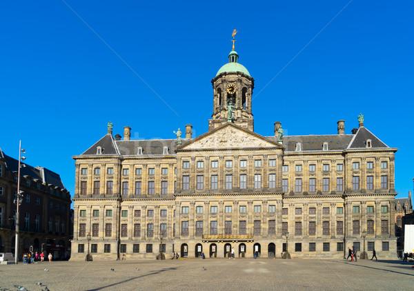 Koninklijk Paleis in Amsterdam Stock photo © neirfy