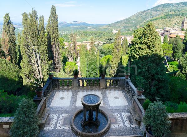 Gardens dEste, Italy Stock photo © neirfy