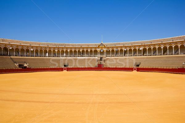 bullfight arena,  Sevilla, Spain Stock photo © neirfy