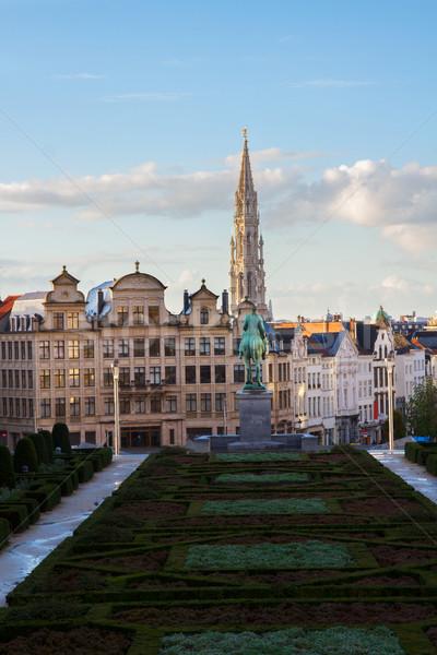 Monts des Arts, Brussel Stock photo © neirfy
