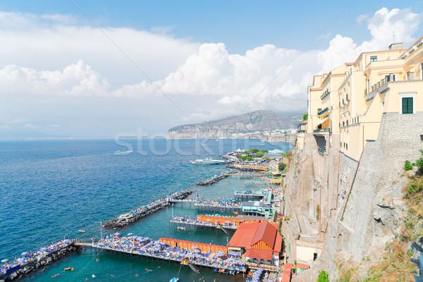 Sorrento, southern Italy Stock photo © neirfy